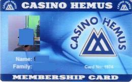 BULGARIA KEY CASINO     Hemus   - SOFIA - Casino Cards