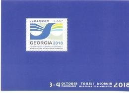 2018. Georgia, Posteurop Plenary Assembly, Tbilisi, 2018, S/s,  Mint/** - Georgia