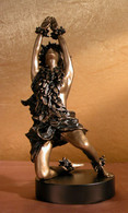 Art Nouveau Bronze Allegoric 'Dancer In The Woods' - Not Signed - Early 1900's - Private Collection - Bronces