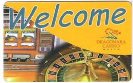 MALTA   KEY CASINO    Dragonara -     Saint Julian's - Casino Cards