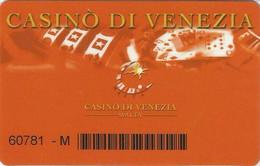 MALTA   KEY CASINO    Casino Di Venezia  -     Qawra - Casino Cards