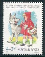 HUNGARY 1985 Youth Charity: Grimm Bicentenary MNH / **  Michel 3746 - Ungebraucht