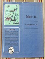 Ancien Protege Cahier D'Ecole PUBLICITAIRE  LA POTASSE D'ALSACE Illustrateur - Omslagen Van Boeken