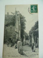 CPA / Carte Postale Ancienne / OISE (60) SENLIS Rue De La Montagne Saint-Aignan - Senlis