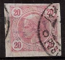 Österreich, Austria  1901 MiNr. 104 Mit Lackstreifen Used/canceled - Used Stamps