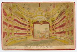 Gravure Originale Sur Carton SALLE DU NOUVEL OPERA A.H.  Editeur  PARIS - Places