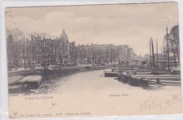 Amsterdam Kromme Waal Levendig Scheepvaart     2246 - Amsterdam