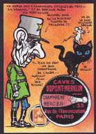 CPM Timbre Monnaie Jihel Tirage Limité Signé Numéroté En 30 Ex. De Gaulle Champagne Les Riceys Viticole 1911 - Monete (rappresentazioni)