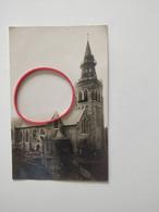 Kortemark Kerk Eglise Herstellen Oorlog 14/18 Fotokaart - Kortemark