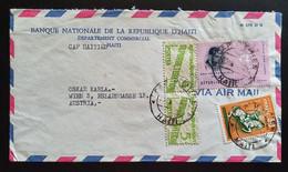 Haiti 1981, Brief MiF HAITI Gelaufen Wien - Haiti