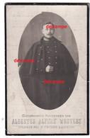 Oorlog Guerre Albert Wouters Werchter Soldaat 2 Lansiers Lancers Gesneuveld In De Strijd Te Wespelaar 1914 - Devotieprenten