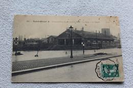 Cpa 1910, Saint Dizier, La Gare, Le Dépôt, Inondations, Haute Marne 52 - Saint Dizier