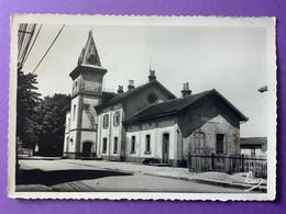 57  CPSM   SARRALBE     La Gare    1953     Bon état (petite Tache) - Sarralbe