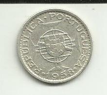 3 Escudos 1958 Timor Silver - Timor