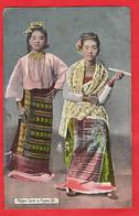 MYANMAR EX BURMA  NGWE SEIN + NGWE YI        ETHNIC - Myanmar (Burma)