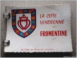85 - Ancien Carnet  De 10 Vues  La Côte Vendéenne : FROMENTINE - Places