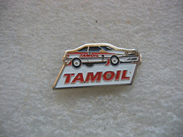 Pin's Rallye Automobile, Véhicule Sponsorisé Par Le Groupe Pétrolier TAMOIL - Rallye