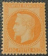 Napoléon III Lauré N° 31 Neuf * Gomme D'Origine, Bon Centrage, Signé SCHELLER  Etat Bien - 1863-1870 Napoleon III With Laurels