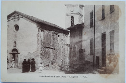 2 St-Paul-en-Forêt (Var) - L'Eglise - Carces
