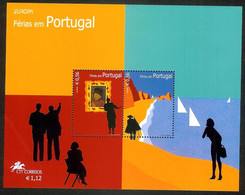 Portugal 2004 - Europa Portugal, Vacations S/S MNH - Unused Stamps