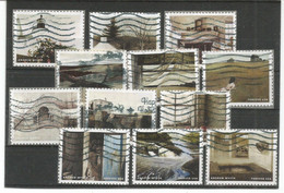 USA 2017 Andrew Wyeth Painter Cpl 12v Set USED Scott # 5212 - Used Stamps