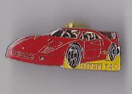 PIN'S  THEME AUTOMOBILE  FERRARI  F 40 - Ferrari