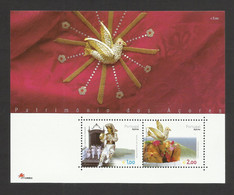 Portugal 2003 - Azores Heritage S/S MNH - Unused Stamps