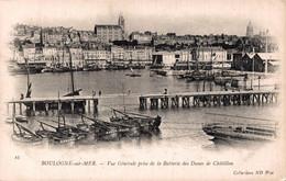 AUT 28719   BOULOGNE SUR MER  VUE GENERALE PRISE DE LA BATTERIE DES DUNES DE CHATILLON - Boulogne Sur Mer