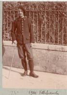 Villefranche Militaire - Guerre 1914-1918 24e BCA Bataillon De Chasseurs Alpins Photo - Chasseur Alpin - Guerre, Militaire