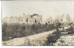 WW1 CARTE-¨PHOTO Wytschaete (Wijtschate) Commune Heuvelland Occupation Allemane Etat De La Commune En Ruines En 1916 - Heuvelland