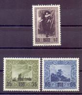Liechtenstein Gemälde 1954 - MiNr. 326/328 Postfrisch - Michel 46,00 € (465) - Unused Stamps