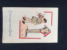 21G - Chez Nous Soyez Reine Marie Jaminet Illustratrice Scoutisme - Devotion Images