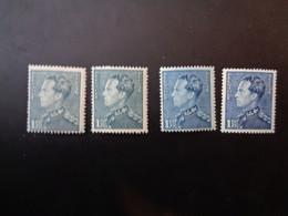 430 Xx MNH Poortman - Couleurs - Kleuren - 1936-1951 Poortman