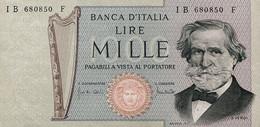 ITALY P. 101b 1000 L 1971 AUNC - 1000 Lire