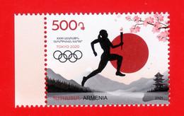 "Armenien/Armenie/Armenia 2021, XXXII Summer Olympic Games ""Tokyo-2020"", Japan, Mount Fuji - MNH - Summer 2020: Tokyo"