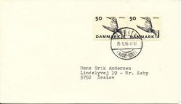 Denmark Cover 19-6-1976 BIRD Stamps (ISFUGL, KINGFISHER) - Brieven En Documenten