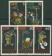 DDR 1964 Kindertag Kinderfernsehen Figuren Sandmann 1025/29 Postfrisch - Ongebruikt