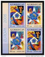 Aserbaidschan / Azerbaijan / Azerbaidjan 2006 HB/sheet From Booklet EUROPA ** - 2006