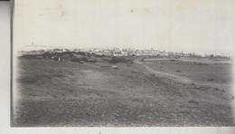 SOMALIA ITALIANA COLONIE BENADIR FOTOGRAFIA ORIGINALE 1913/1915 PANORAMA DI BRAVA E PORTO  CM 14 X 8 - Oorlog, Militair