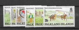 1989 MNH Falkland Islands, Mi 507-12 Postfris** - Falklandeilanden