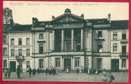 C.P Molenbeek-Saint-Jean =  Place  De La Duchesse  :  Hospice Des  Vieillards - Molenbeek-St-Jean - St-Jans-Molenbeek