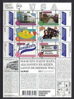 Grenzeloos Nederland & USA 2015, Pay Bas Olanda Netherlands, Language **, MNH, S/S - Unused Stamps