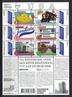 Grenzeloos Nederland & USA 2015, Pay Bas Olanda Netherlands, Architecture **, MNH, S/S - Unused Stamps