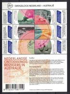 Grenzeloos Nederland & Australië 2016, Pay Bas Olanda Netherlands, Explorer **, MNH, S/S - Unused Stamps