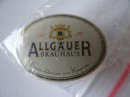 """Bier-Pin: """"Allgäuer"""" Allgäuer Brauhaus, Kempten, Bayern, OVP - Birra"""