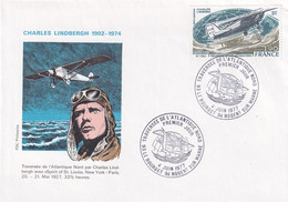 4. Juin 1977 - Traversee De L'Atlantique Nord - Charles Lindbergh - Andere