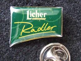 Bier-Pin: Licher Privatbrauerei - Radler, OVP - Birra
