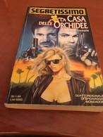 Italy  Book Segretissimo La Casa Delle Orchidee N.1246 Libro - Azione E Avventura