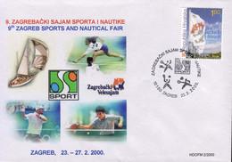 Croatia / Croatie 2000, Tennis / Table Tennis / Sailing / Voile - Other
