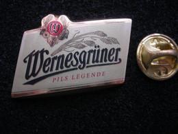 """Neurer Bier-Pin: """"Wernesgrüner"""" Wernesgrüner Brauerei, Sachsen, OVP -- 2) - Birra"""
